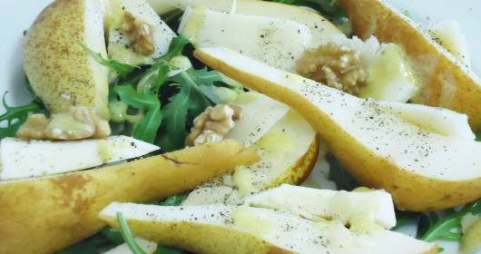 Insalata di pere e pecorino