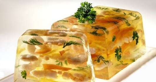 Aspic di pollo