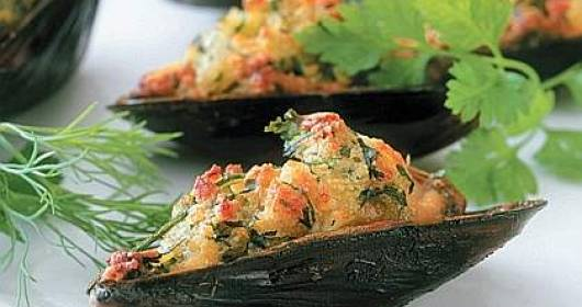 Cozze al gratin