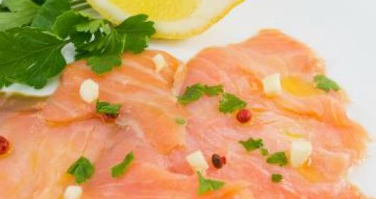 Carpaccio di salmone