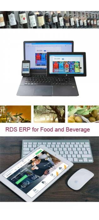RDS ERP FOR FOOD & BEVERAGE
