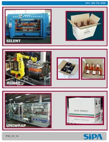 catalogo-PACKAGING LINES DEDICATED TO THE WINE FIELD SIPA AND THE WINE